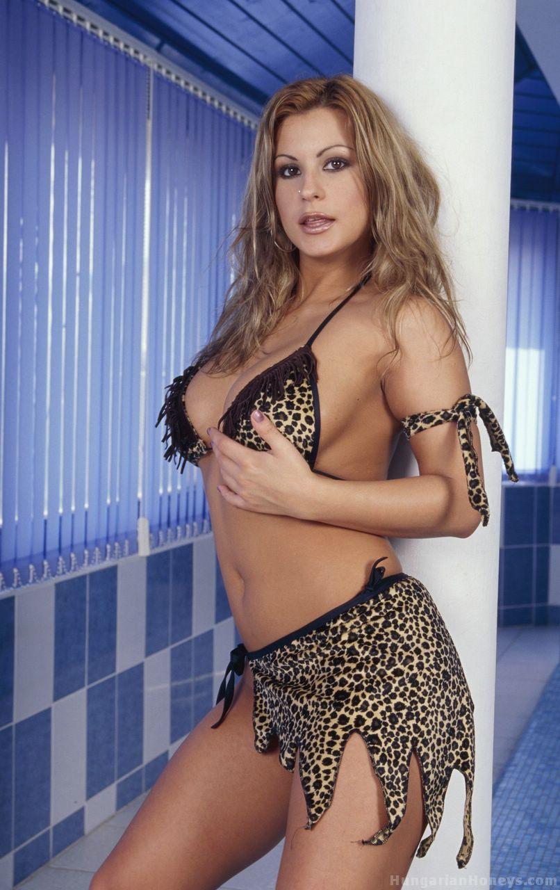 Droa Meszaros Cave Woman Bikini